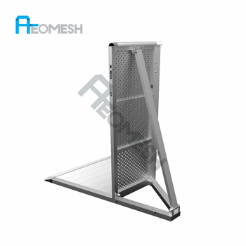 Factory Supply High Quality Aluminum Mojo Barrier, Concert Used Barricades for Sale
