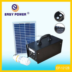 EP1212B Portable Mobile Charging System 20W Solar Lighting With USB Speaker Solar Power System Solar Power System