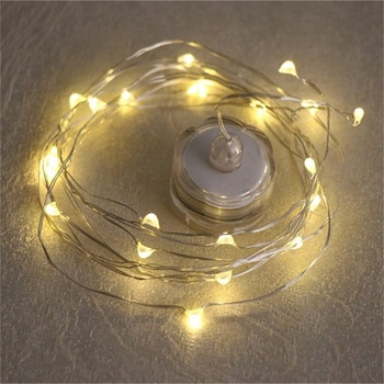 Best Selling Warm White Led Starry Lights CR2032 Mini Copper Wire Lights