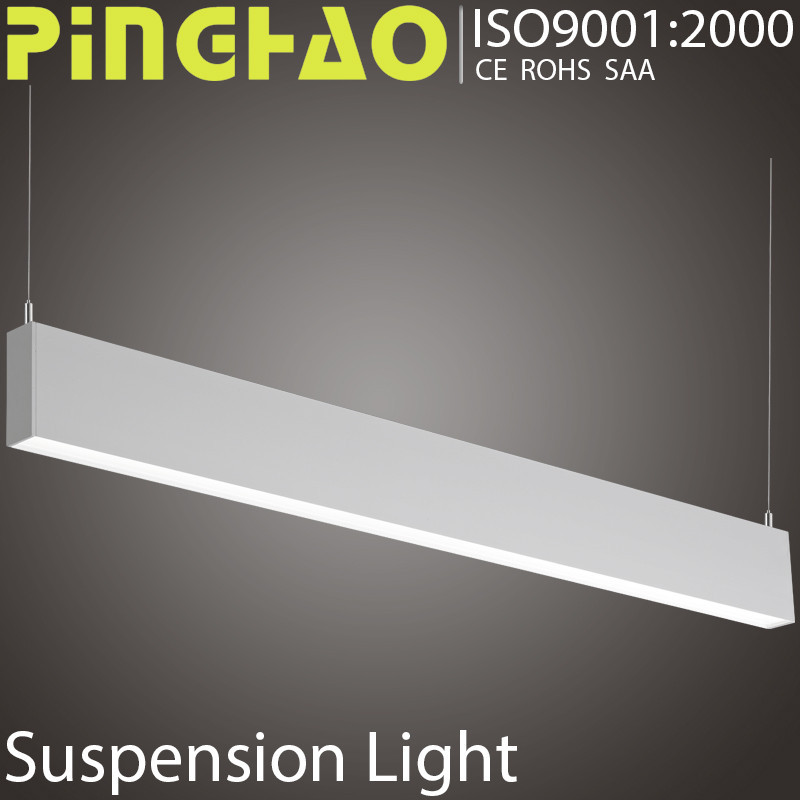 Contemporary 60w led suspended ceiling office lighting