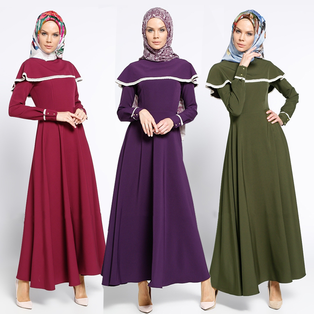 Wholesale red muslim gowns - Online Buy Best red muslim gowns from ...