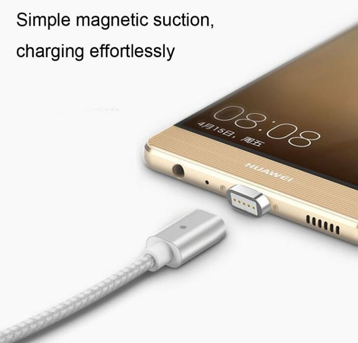 Braided Magnetic Type-C USB c Charging Cable Android Universal For Samsung LG G5/V20