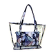 Jelly Transparent Outdoor Swimming Tote Bag Handbag