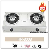2015 most popular stainless steel cooking top gas stove
