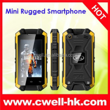 2.4 Inch Touch Screen Android 4.2 IP54 Waterproof J5 Mini Small Size Mobile phone Dual SIM