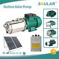 High grade quality solar dc surface water pump ( 5 Years Warranty )