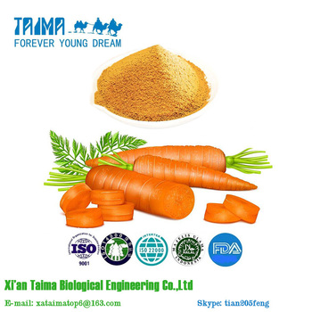 High Quality 100% Natural Organic Carrot Vegetable Powder, Carrot Juice Powder Hot Selling with Factory Price