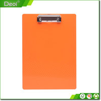 Custom made Factory double side plastic clipboard/drawing clipboards/clip board