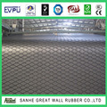 Large Diamond Pulley Drum Lagging rubber sheet back fabric cloth finished inpression conveyor belt