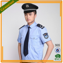Chest Customize woven Security Guard Short Uniform suits