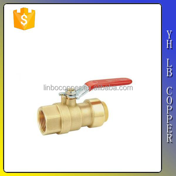 (2C-JELLY14) C Type Third Generation brass manifold for underfloor heating system with Double Ball Valves for underfloor heating