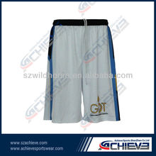 factory cheap price wholesales basketball shorts 100% polyester