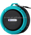 circuit board promotional bluetooth speaker with TF card play,gift waterproof bluetooth speaker with hook
