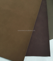 printed Yanbuck buffing Pu leather pu material