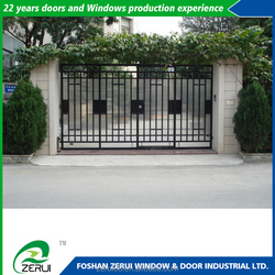 Home outdoor patio leisure iron gate designs for home new product launch in china
