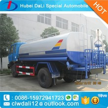 Dongfeng 153 12000 liter stainless steel water tank truck sale,Good quality 10000 liters water tank truck for sale