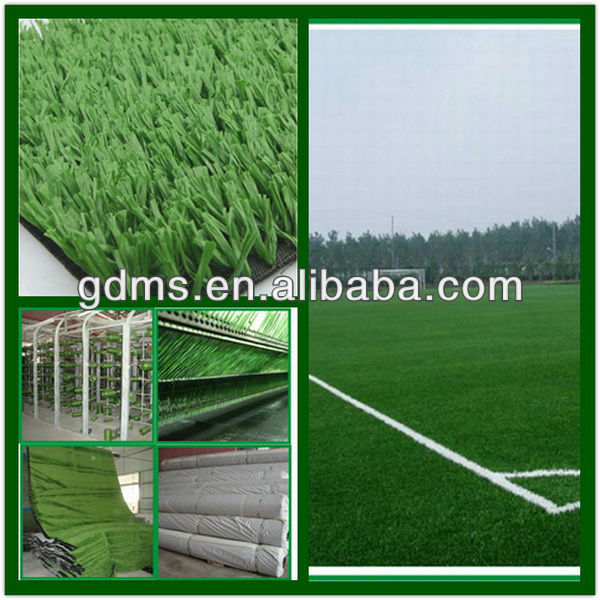 2013 High performance soccer artificial turf acrylic sports surface floor