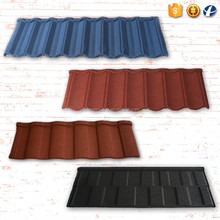 Nigeria Africa Austrilia Chinese high quality colorful roof tiles roofing material stone concrete metal roof tile