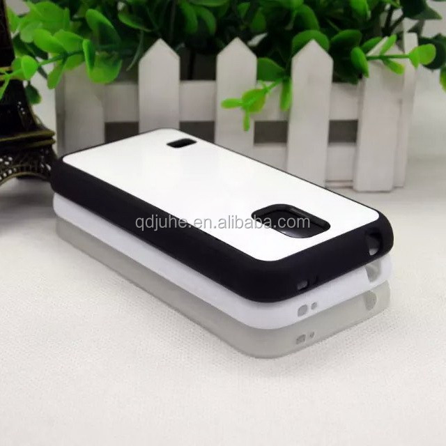 high quality tpu phone case with metal aluminum sheet cover for S5mini