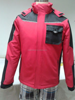 Men's workwear softshell jacket