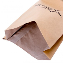 Wholesale PP woven composite multi-layer 25kg kraft paper bags plastic paper compound food bag