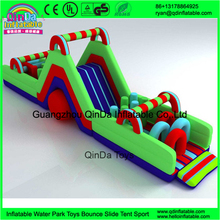 New Design Attractive Sports Jumper / Adult Inflatable Obstacle Course For Sale