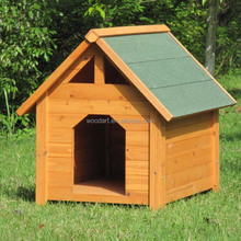 Beautiful Design pointed roof for dog house, wooden dog kennel and cages