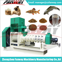 Good quality fish feed / cat feed / dog food usage animal feed extruder machine