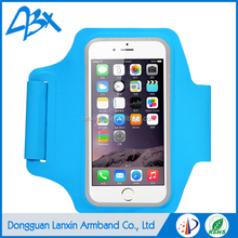 High quality smart phone sports running jogging armabnd blue color case for iphone 5c