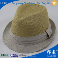 hot sale wholesale hat cowboy fashion folded cheap panama straw cap