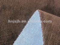 polyester embroidered design upholstery fabric for sofa/ sofa set material