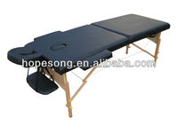 Thai Beauty Salon Wooden Portable Massage Table/Folding Furniture