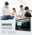 Best Seller Wireless GSM Home Burglar Alarm with Touch Screen and Keypad