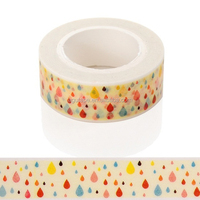 Custom Washy Paper material and printed Tape