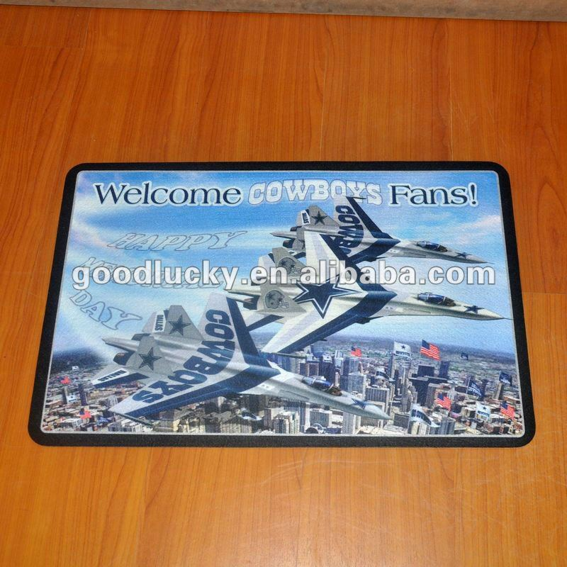 Guangzhou factory new products promotion flooring mat /rubber floor mat