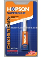 1pc/card Double Blister quick bond Aluminum Tube Super Adhesive Glue
