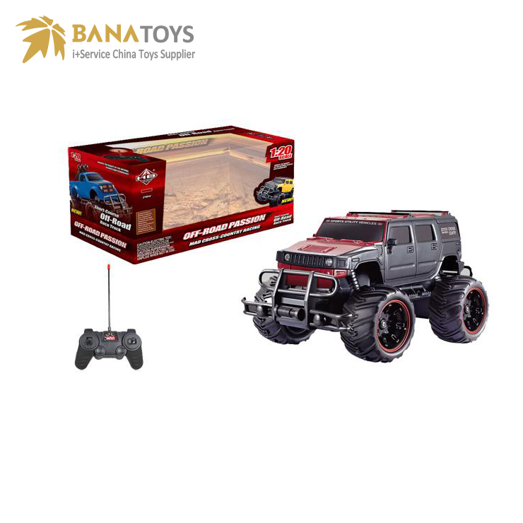 Promotional off road jeep rc monster truck toy