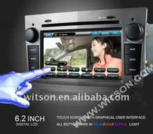WITSON car dvd player opel vectra with Auto Rear View Function