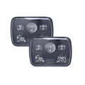 CE RoHs IP67 DOT 7 inch 5x7 square led headlight sealed beam
