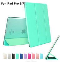Factory price wholesale for ipad pro 9.7 clear PC case custom design high quality for ipad pro case transparent