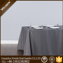 Hotel manufacter square new style jenny bridal table cloth