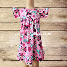 wholesale girls clothing frock baby love pattern princess dresses for kids