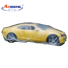 PE car cover protection auto cover disposable