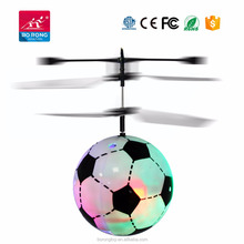 2018 RC infrared Induction Helicopter Flying Ball Built-in Shinning LED Lighting for Kids