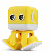 Fangxiaofang Robot Mini Square Musical Talking Learning Enligh Educational Robot Kit For Kids control by app