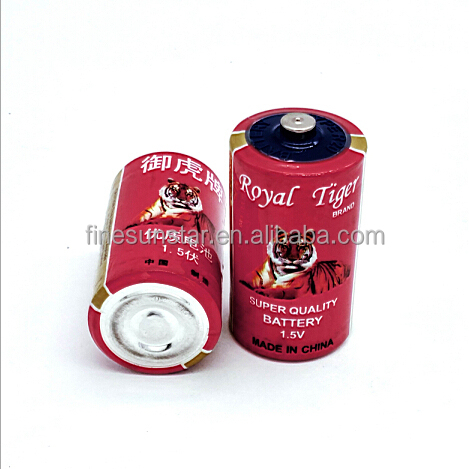 R20/SIZE D/UM-1 PVC Jacket Royal Tiger Dry Battery