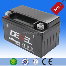 12 V maintenance free starting motorcycle battery for distribution from chongqing and sichuan China
