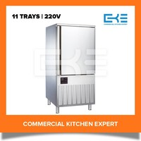 11 Trays 400L Frozen Fish Meat Competitive Prices Blast Chiller Freezer