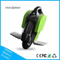 Smart balance unicycle freeman a4 samsung li-battery pack adult electric motorcycle in hot sales