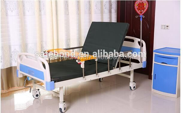 High Quality China Manufacturer 2 Crank Hospital Bed